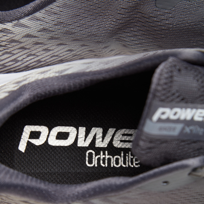Chaussures Homme power, Gris, 809-2161 - 16