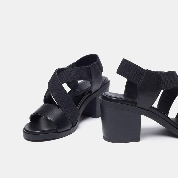 Chaussures Femme bata, Noir, 769-6768 - 26