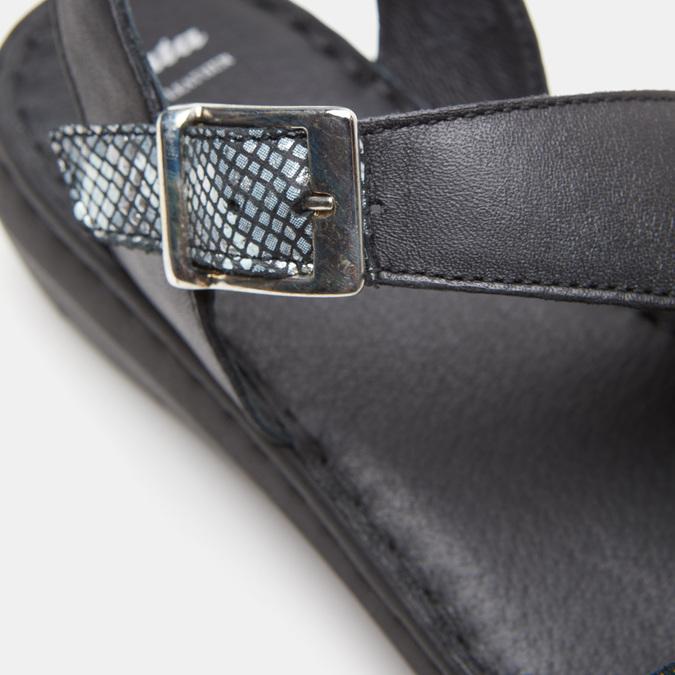 Chaussures Femme bata, Noir, 574-6680 - 19