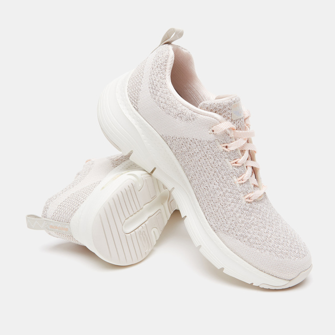 Chaussures Femme skechers, Blanc, 509-1172 - 19