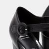 Escarpins de type T-strap bata, Noir, 724-6134 - 26