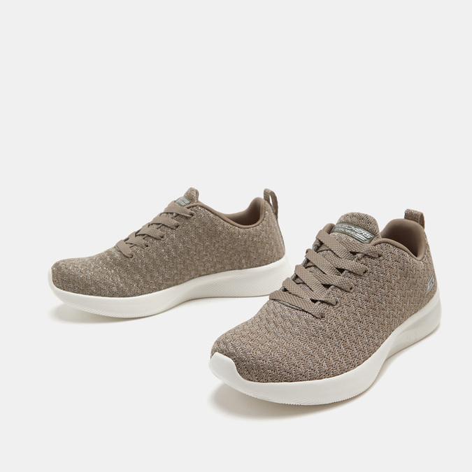 Baskets femme skechers, Beige, 509-3130 - 26