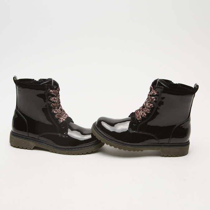 bottines enfant mini-b, Noir, 391-6119 - 15