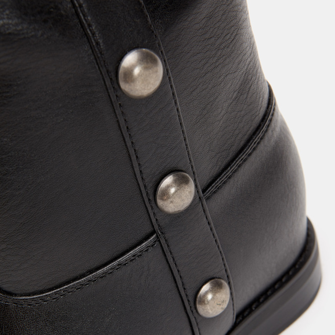 Bottes avec des maxi clous bata, Noir, 591-6108 - 26