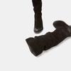 Bottes en suédine bata, Noir, 593-6584 - 17