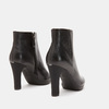 Bottines en cuir de type tronchetto insolia, Noir, 794-6675 - 15