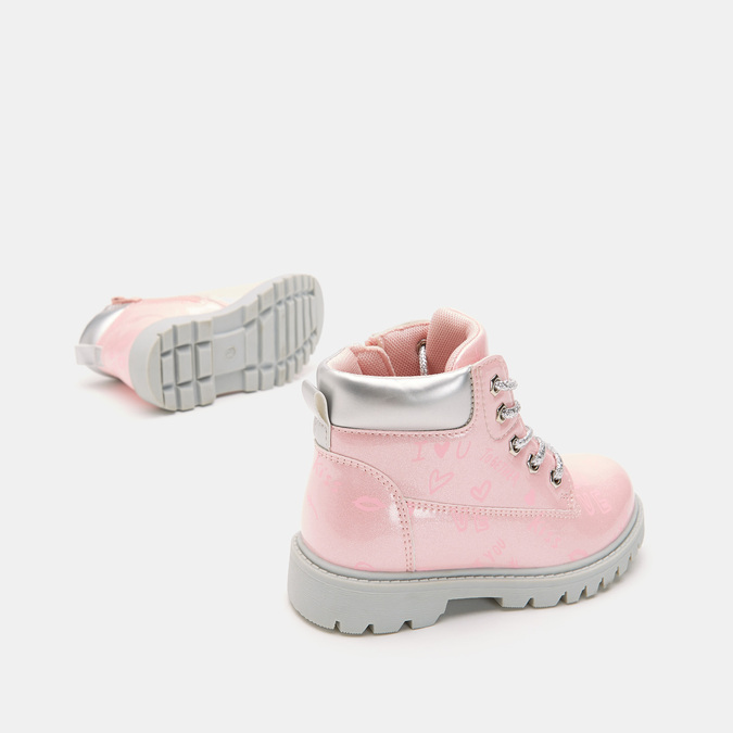 BOTTINES ENFANT mini-b, Rose, 291-5151 - 17