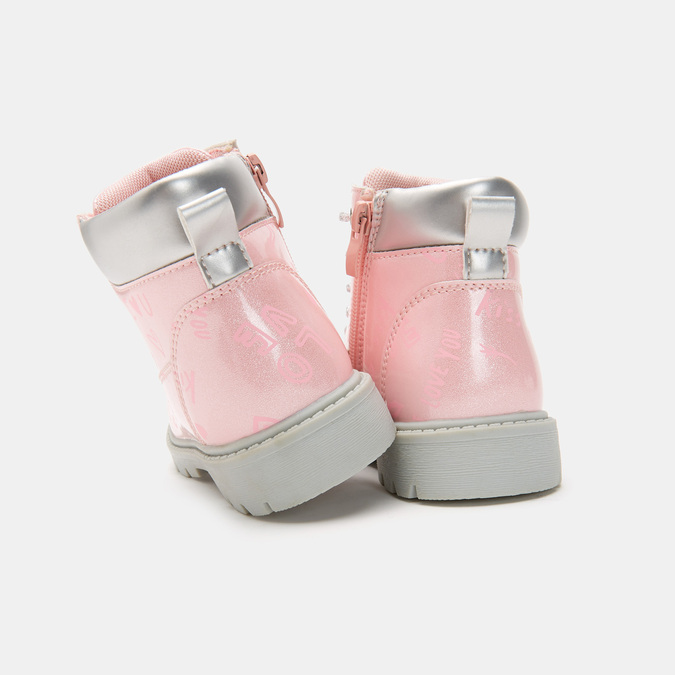 BOTTINES ENFANT mini-b, Rose, 291-5151 - 15