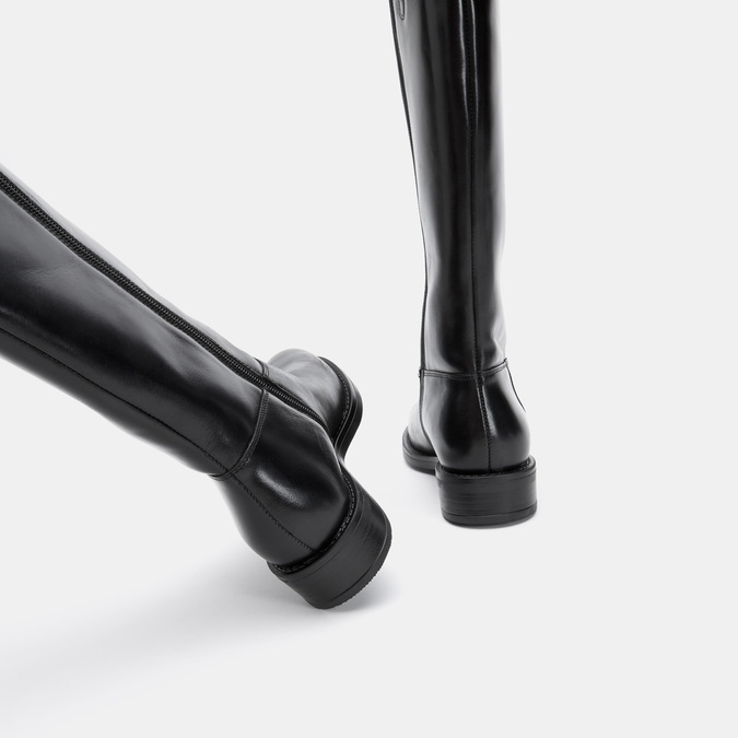 Bottes en cuir bata, Noir, 594-6420 - 15