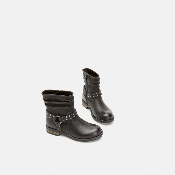 BOTTINES ENFANT mini-b, Noir, 391-6349 - 16