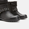 BOTTINES ENFANT mini-b, Noir, 391-6349 - 17
