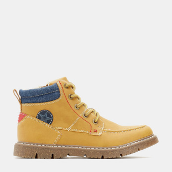 BOTTINES ENFANT mini-b, Jaune, 391-8176 - 13