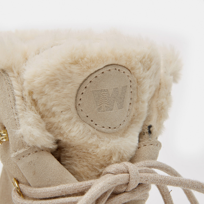 Rangers en cuir weinbrenner, Blanc, 593-1196 - 26