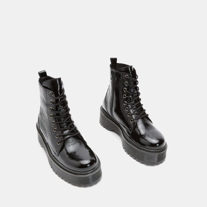Bottines bata, Noir, 598-6105 - 16