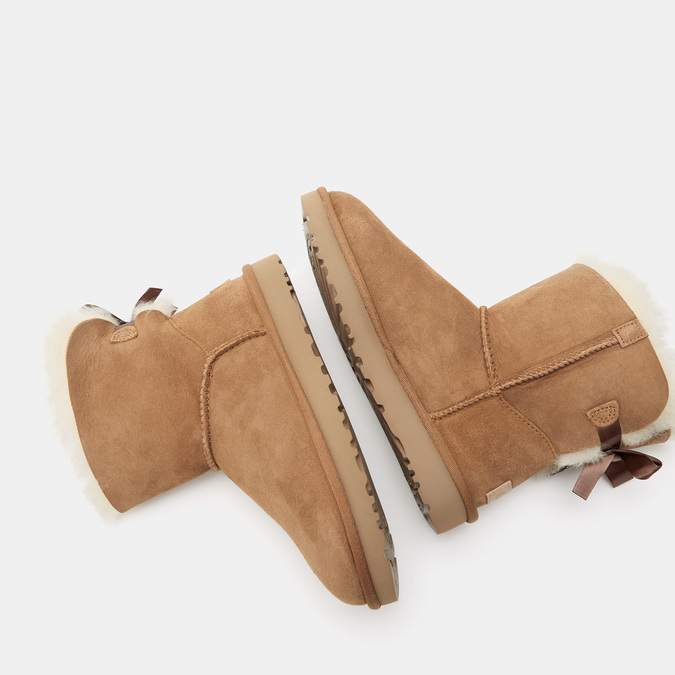 BOTTINES EN CUIR ugg, Brun, 593-3390 - 17