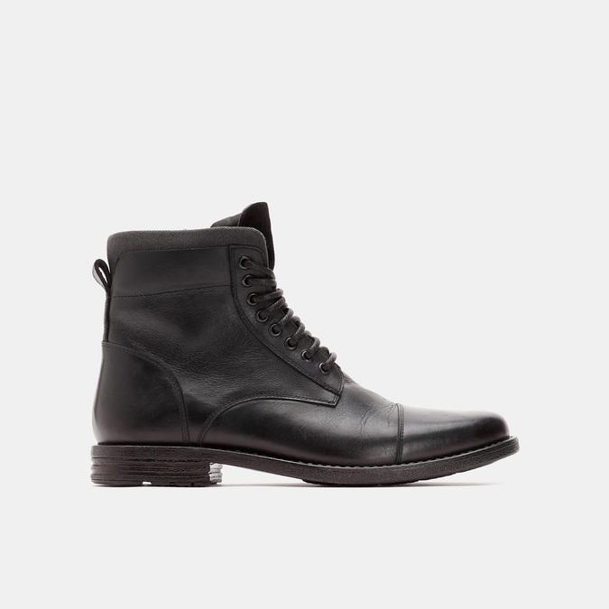 bottines en cuir homme bata, Noir, 894-6517 - 13
