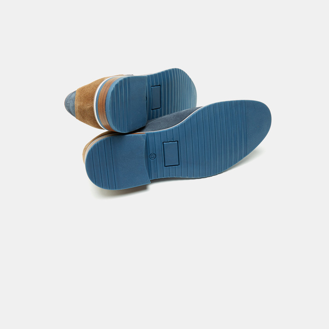 Chaussures à lacets homme bata, Bleu, 823-9115 - 17