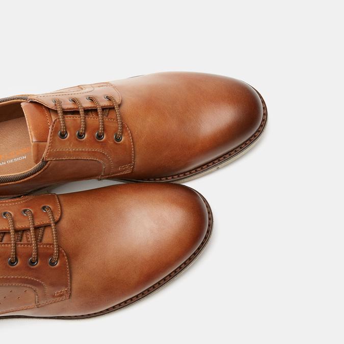 Chaussures à lacets homme flexible, Brun, 824-4780 - 19