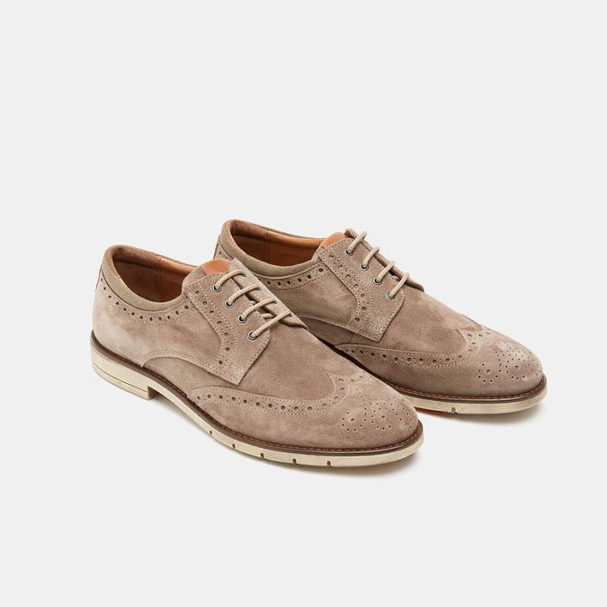 Chaussures à lacets homme flexible, Gris, 823-2193 - 16