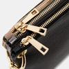 Pochette en cuir bata, Noir, 964-6366 - 26