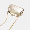 Pochette en cuir bata, Or, 964-8306 - 15