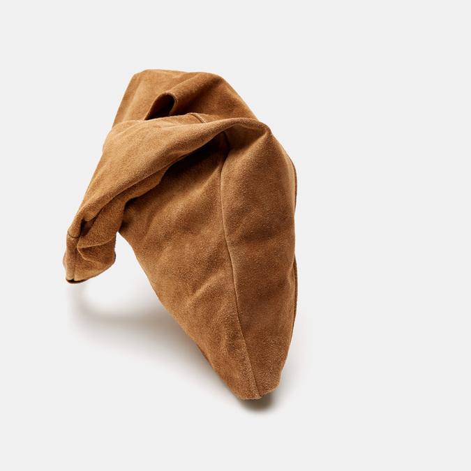 Sac hobo en cuir bata, Brun, 963-3110 - 16
