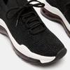 Baskets Knit femme bata, Noir, 549-6759 - 26