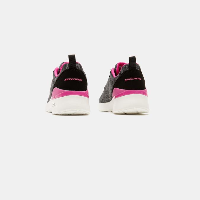 Baskets femme skechers, Noir, 509-6108 - 15