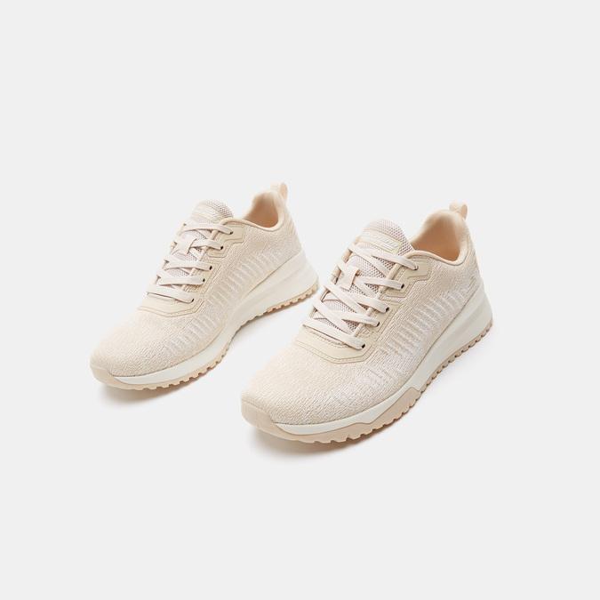 Baskets femme skechers, Beige, 509-3108 - 16