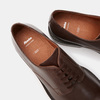 chaussures basses en cuir homme bata, Brun, 824-4264 - 17