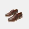 Chaussures à lacets homme bata-rl, Brun, 824-3132 - 15