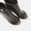 Sandales à dessus perforé bata, Noir, 721-6269 - 15
