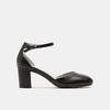 Escarpins en cuir flexible, Noir, 624-6240 - 13