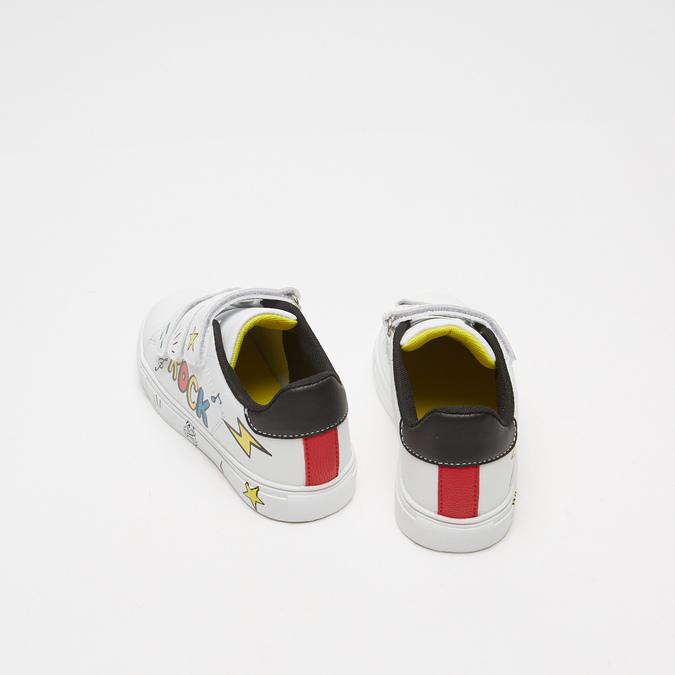 Baskets enfant à fermeture éclair mini-b, Blanc, 311-1285 - 17