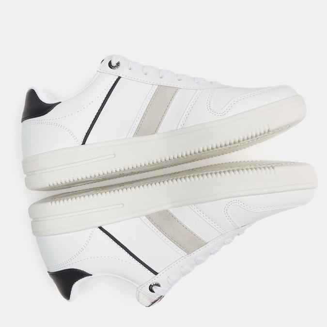 baskets homme, Blanc, 801-1518 - 17