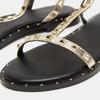 Sandales cloutées bata, Or, 561-8838 - 16