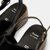 Sandales à plateforme bata, Noir, 761-6887 - 19