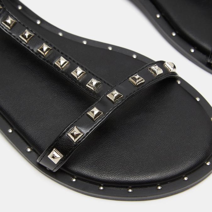 Sandales cloutées bata, Noir, 561-6838 - 16