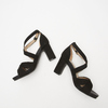Sandales à bride autour de la cheville bata, Noir, 769-6891 - 17