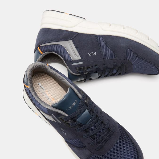 Tennis homme flexible, Bleu, 843-9145 - 15