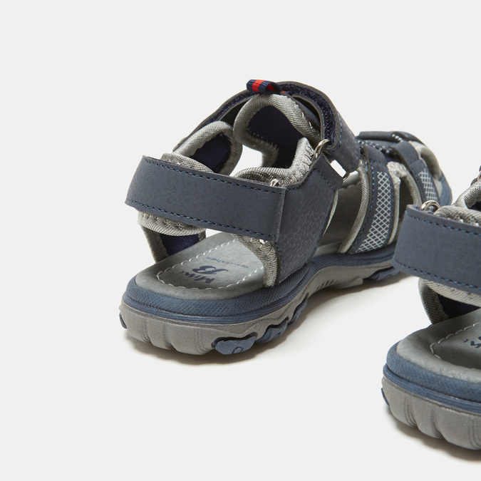 Sandales garçon mini-b, Bleu, 261-9231 - 16