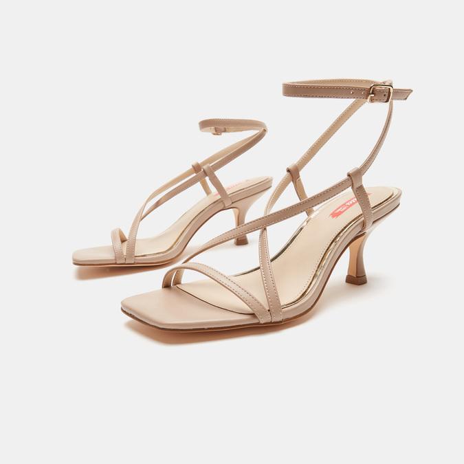 Sandales à bride bata-rl, Rose, 761-5853 - 16