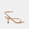 Sandales à talon bata, Rose, 661-5497 - 13