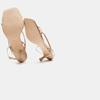 Sandales à talon bata, Rose, 661-5497 - 17