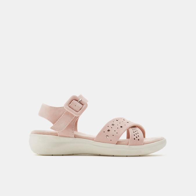 Sandales fille mini-b, Rose, 361-5429 - 13