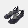 Sandales à bride bata, Noir, 564-6710 - 15