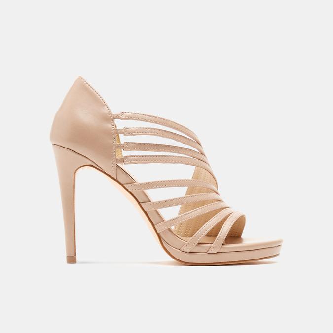 Sandales à talon aiguille bata-rl, Rose, 761-5854 - 13