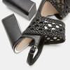 Sandales à talon large bata, Noir, 761-6861 - 17
