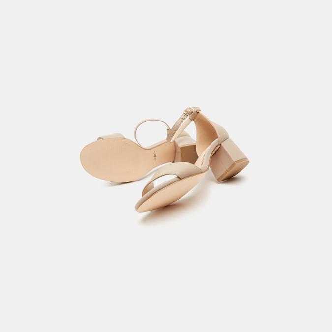Sandales à talon large bata, Rose, 764-5862 - 17