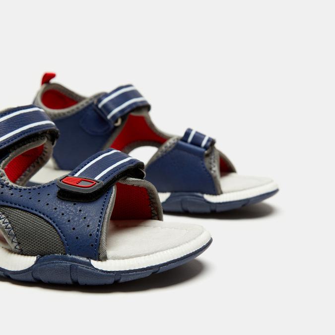 Sandales garçon mini-b, Bleu, 361-9397 - 15